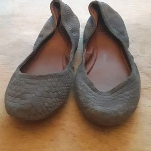 Lucky Brand gray shoes
